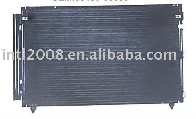 Auto condensador / China fabricação / China condensador auto condensador fornecedor