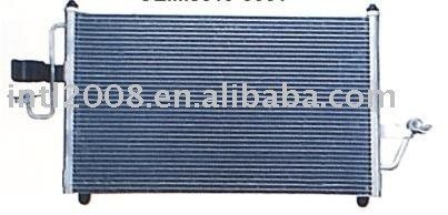 Auto condensador para daewoo nubira/ china auto condensador fabricação/ china condensador fornecedor