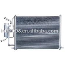 Auto condensador para o ford fiesta/ china auto condensador fabricação/ china condensador fornecedor