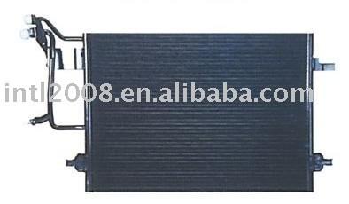 Auto condensador para vw/ passat b5/ china auto condensador fabricação/ china condensador fornecedor