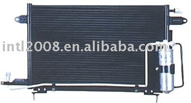 Auto condensador para vw/ jetta reis/ china auto condensador fabricação/ china condensador fornecedor