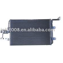 Auto condensador para vw/ bora ( com secador )/ china auto condensador fabricação/ china condensador fornecedor