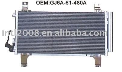 auto condenser for MAZDA FAMILY/ China auto condenser manufacture/China condenser supplier