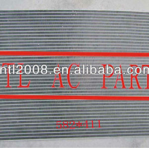 Auto condensador da ca para 2004-2008 chevrolet aveo 96539634 96539632 dpi não: 3240 584*438*18mm