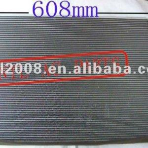 Auto ar condicionado condensador da ca kia cerato 2010 608*400*16mm entrega rápida de ações em massa