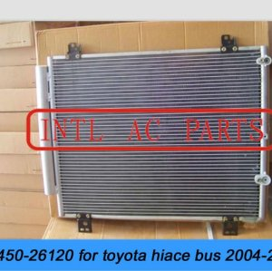 Auto ar condicionado ac condensador toyota hiace bus 2004-2010 05 06 07 08 09 10 88450-26120 88450 26120 entrega rápida de ações em massa