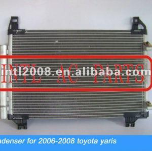 Auto ar condicionado condensador da ca para toyota yaris 06-08 88460-52130 8846052130 88460- 0d150 88460-od150 88460-od15o condensador