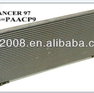 Auto ac condensador para Mitsubishi Lancer 1996 1997 1998 1999 2000 2001 condensador 661 * 314 * 16 mm