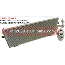 Auto condensador da ca assy para mitsubishi lancer 96-01 1996-2001 1997 97 1998 98 1999 99 2000 00 2001 01