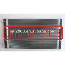 universal alumínio condensador de fluxo paralelo condensador condensador pf 660x370x240mm assy