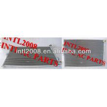Ar condicionado do carro um/c ac condensador assembléia para escavadeira komatsu kondensator 572mm*25mm