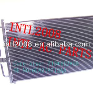 Auto ar condicionado uma/c ac condensador assembléia/kondensator para ford escape mazda tribute mercury mariner 2003-2007 6l8z19712aa