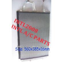 Ac ar condicionado ac auto condensador do kia cerato 2006-2010 kia cerato koup 2010 97606- 1m000 976061m000