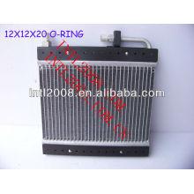 Condensador de fluxo paralelo ac universal um/c de montagem do condensador 12x12x20mm o- ring