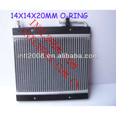 Condensador de fluxo paralelo ac universal um/c de montagem do condensador 14x14x20mm o- ring