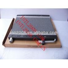 O- ring kondensator automotivo ar condicionado uma/c ac condensador assembléia para uso universal 140*140*200mm