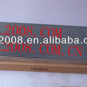 O- ring kondensator automotivo ar condicionado uma/c ac condensador assembléia para uso universal 14*28*20