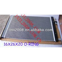 Ac universal um/c de montagem do condensador de fluxo paralelo condensador universal 16x26x20mm o- ring