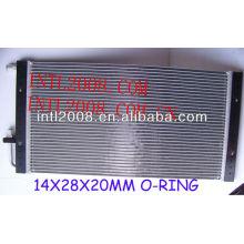 Ac universal um/c de montagem do condensador de fluxo paralelo condensador universal 14x28x20mm o- ring