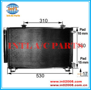 Ac unidade de condensação para toyota yaris/echo 88454- 0d020/88460-52020/88460-54020/88450-52170