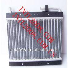 Ac ar condicionado condensador de fluxo paralelo universal ac ar condicionado condensador o- ring core bobina 14x14x20