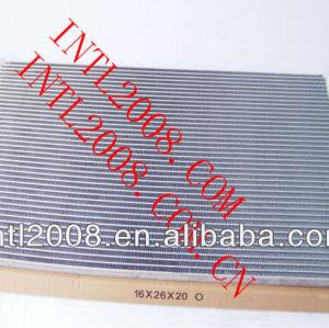 Ac ar condicionado condensador de fluxo paralelo universal ac ar condicionado condensador o- ring core bobina 16x26x20