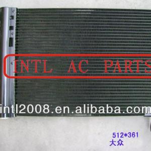 6q0820411b 6q0820411e 6q0820411h 6q0- 820- 411b 6q0- 820- 411e 6q0- 820- 411h ar ac um/c condicionado condensador para vw audi skoda seat