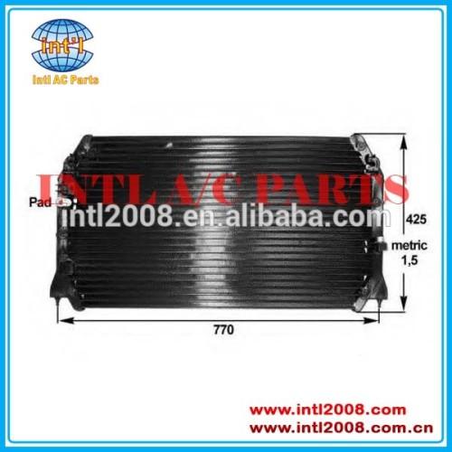 Número da peça # 88460-06061 uso para toyota camry/solara 99-03 carro ac condensador para lexus es300 97-01