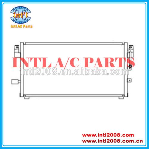 Automóvel condensador de ar condicionado para toyota corolla 88460-02050 auto condensador de ar