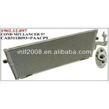 Auto mitsubishi lancer um/c condensador de alumínio