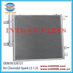 W/secador novo um/c ac condensador para chevy chevrolet spark 2013-2014 4- porta 1.2l 95326121 gm3030301