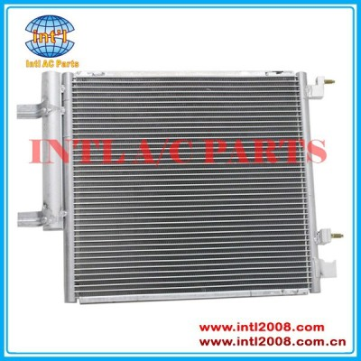 Condensador de fluxo paralelo para chevy chevrolet spark ls/lt 4 cyl 1.2l 74/76cid 2013-2014 95326121 95999251 gm3030301 4184 dpi
