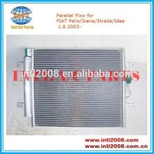 466*378*16mm condensador da ca, ar condicionado 5a3779500 para fiat palio/siena/strada/idéia 1.8 2003-