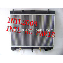 Radiador de alumínio 16400-21270 1640021270 auto radiador para toyota yaris vitz'05 ncp91/ncp100 made in china de alta qualidade