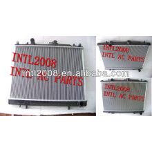 Alumínio do motor de refrigeração do radiador para mitsubishi freeca'97 mt mr355049 mb356342