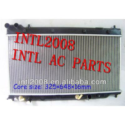 Ar condicionado auto radiador ac assy para- honda- fit 2004-2008 núcleo 325x648x16mm 19010-rmn-w51 19010rmnw51 aircon do radiador ac