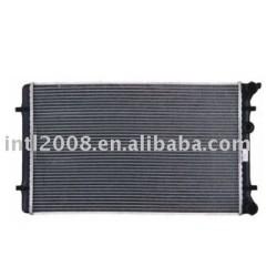 Carro ar condicionado radiador para VW BORA