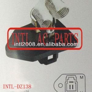 Hvac aquecedor ventilador Motor ventilador Resistor Rheostat para Mitsubishi 3 pino