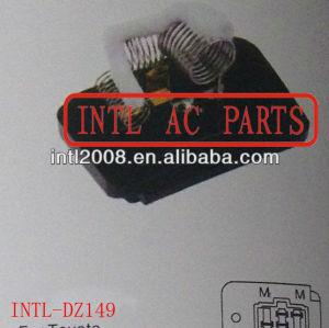 Hvac aquecedor ventilador Motor ventilador Resistor Rheostat para Toyota Corolla 4 pino