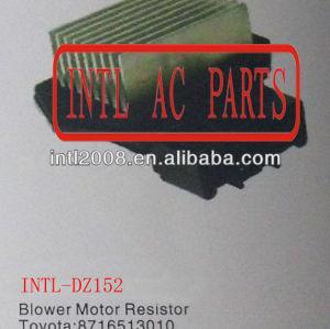 8716513010 87165-13010 499300-2121 4993002121 hvac aquecedor do motor do ventilador do ventilador resistor reostato para toyota lexus e scion dodge