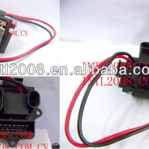 Motor de ventilador resistor para renault scenic 1999-2001 770104694 regulador do ventilador ventilador resistência módulo de controlador de unidade de controle