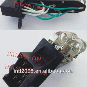 1425070 1738098 HVAC aquecedor ventilador Motor ventilador Resistor Rheostat para Scania Truck