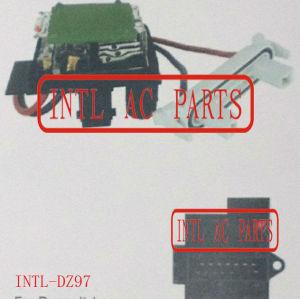 Aquecedor ventilador resistor reostato para renault laguna símbolo/renault clio ii oe#7701206351/resistencia dd caixa evaporadora
