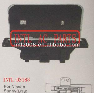 Aquecedor de ar reostato resistor resistor aquecedor ventilador do ventilador do motor resistor para nissan infiniti sunny 27150- 62j01 2715062j01