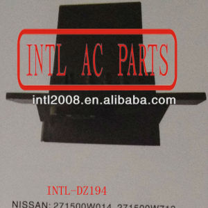 Aquecedor reostato resistor resistor do ventilador do motor do ventilador resistor de patrulha nissan pathfinder 271500w014 271500w712 27150- 0w014