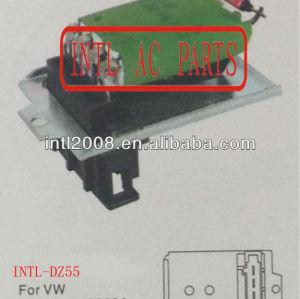701959263a hvac blower resistor para vw golf 3/vento/polo 6n/t4 busjetta resistência térmica/regulador/radiador do motor do ventilador