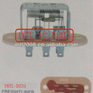 Hvac blower resistor para caminhão freightliner 1988-2001 resistência térmica/regulador/radiador do motor do ventilador resistor