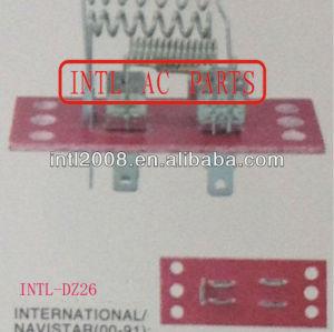 Radiador ventilador Resistor / HVAC Blower Motor Resistor for International Navistar / Kanworth Volvo 1984-2001 resistência ao calor / regulador