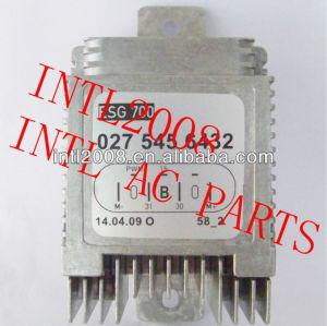 Aquecedor do motor do ventilador resistor reostato aux. Auto auxiliar reostato para mercedes benz mb 027-545-64-32 0275456432 w01331600939
