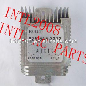 Ar condicionado ac aquecedor de resistência para a mercedes benz mb 025-545-33-32 0255453332 a025-545-33-32 aux. Auxiliar de controle do ventilador da unidade